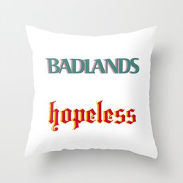 Halsey's Albums Throw Pillow