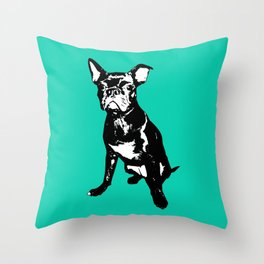 Bugg Dog Throw Pillow