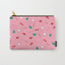 Pink Shark and Whale Shark Carry-All Pouch