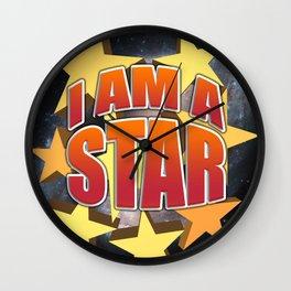 I am a star Wall Clock