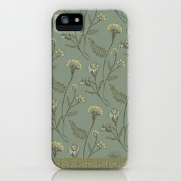 Dazed - Floral Pattern iPhone Case