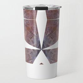 Rust and Concrete Travel Mug
