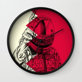The Sultan of Bahrain Wall Clock