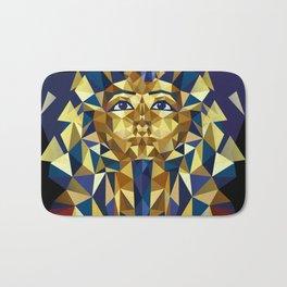 Golden Tutankhamun - Pharaoh's Mask Bath Mat