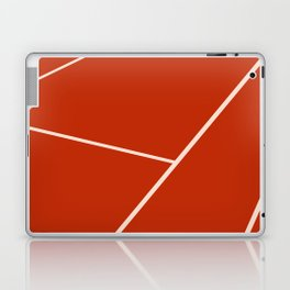 Tennis court gravel Laptop & iPad Skin