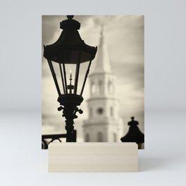 Lantern Near St. Michael's Mini Art Print