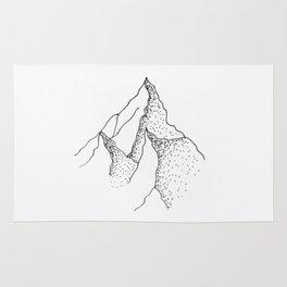 Doted Mountain Rug