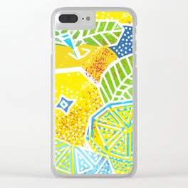 New Fruits Clear iPhone Case