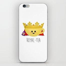Royal-tea iPhone Skin