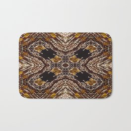 Illuminated kaleidoscope Bath Mat