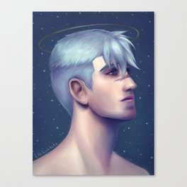 Shiro - Guardian Canvas Print