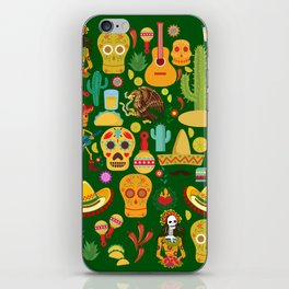 Fiesta Time! Mexican Icons iPhone Skin