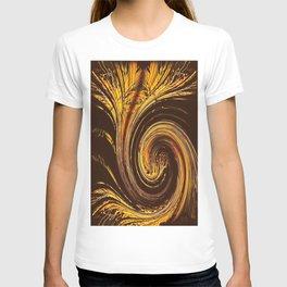 Golden Filigree Germination T-shirt