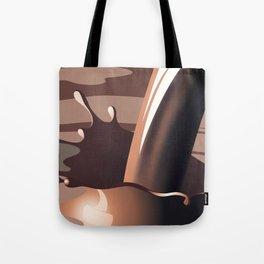 Chocolate milk splash Tote Bag