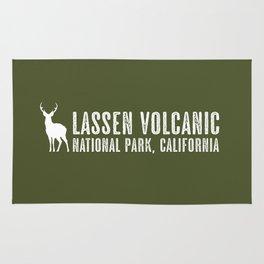 Deer: Lassen Volcanic, California Rug