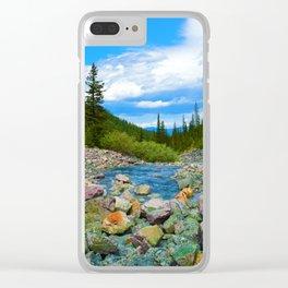 Geraldine Lakes Hike in Jasper National Park, Canada Clear iPhone Case