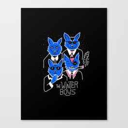 The Winter Boys Canvas Print