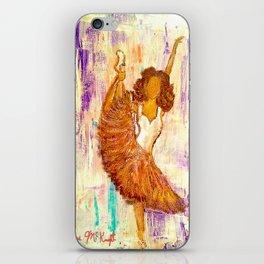 Ballerina No.1 (Tribute to Misty Copeland) iPhone Skin