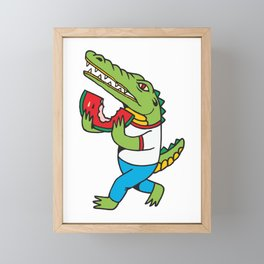 Sandia te amo Framed Mini Art Print