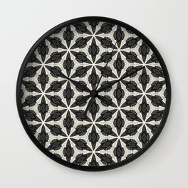 Openwork Abstract Pattern Wall Clock