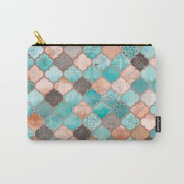 Moroccan pattern artwork print Carry-All Pouch