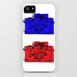 Click Click Red iPhone Case