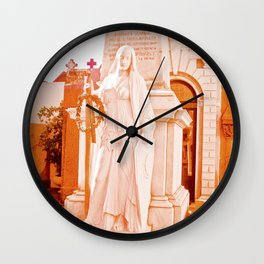 Mother of La Recoleta. Wall Clock
