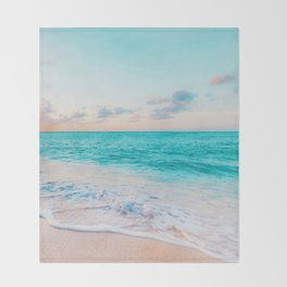 Ocean Bliss #society6 #society6artprint #buyart Throw Blanket