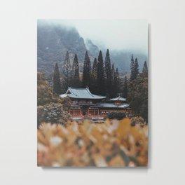 Sacred Temple Metal Print