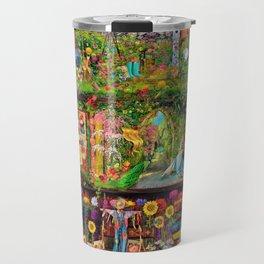 The Secret Garden Book Shelf Travel Mug
