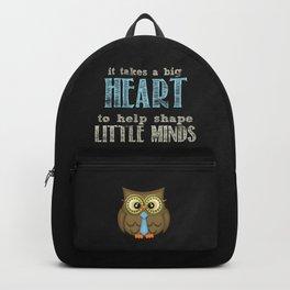 Big heart blue Backpack