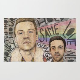 Macklemore & Ryan Lewis - The Heist Rug