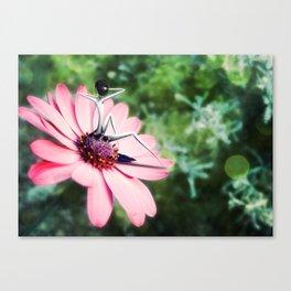 Comme une fleur Canvas Print