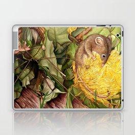 Honey Possum in Dryandra Laptop & iPad Skin