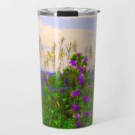 Delphinium Staphisagria Travel Mug