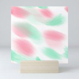 80s pastel leotard Variation Mini Art Print