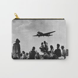 World War II Tailgate Party - Vintage Collage Carry-All Pouch