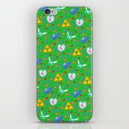 Ocarina of Time Pattern / Legend of Zelda iPhone Skin