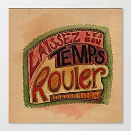 Laissez Les Bon Temps Rouler Canvas Print