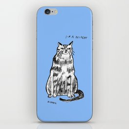 I'm a delight iPhone Skin