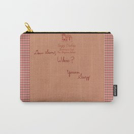 Moonrise Kingdom Letter Carry-All Pouch