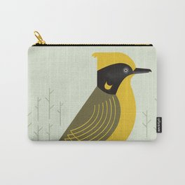 Helmeted Honeyeater, Bird of Australia Carry-All Pouch