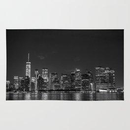 Downtown Manhattan Staten Island Ferry Rug