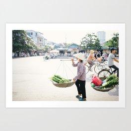 Vietnamese Woman Art Print