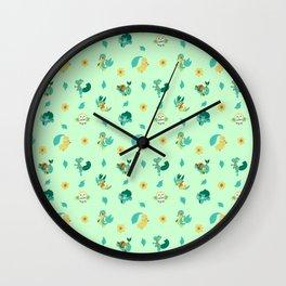 Grass Starters Wall Clock