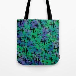 The Joker: HA HA HA Tote Bag