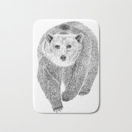 Grizzly Bath Mat