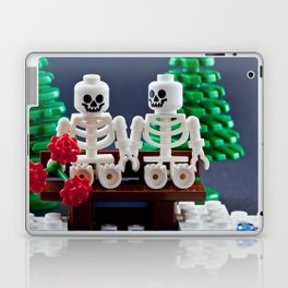 Skeletons are shy too Laptop & iPad Skin