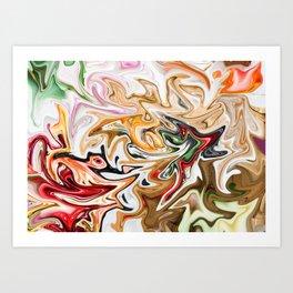 Natural Glow Art Print