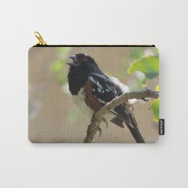 Spotted Towhee Scopes the Oak Grove Carry-All Pouch